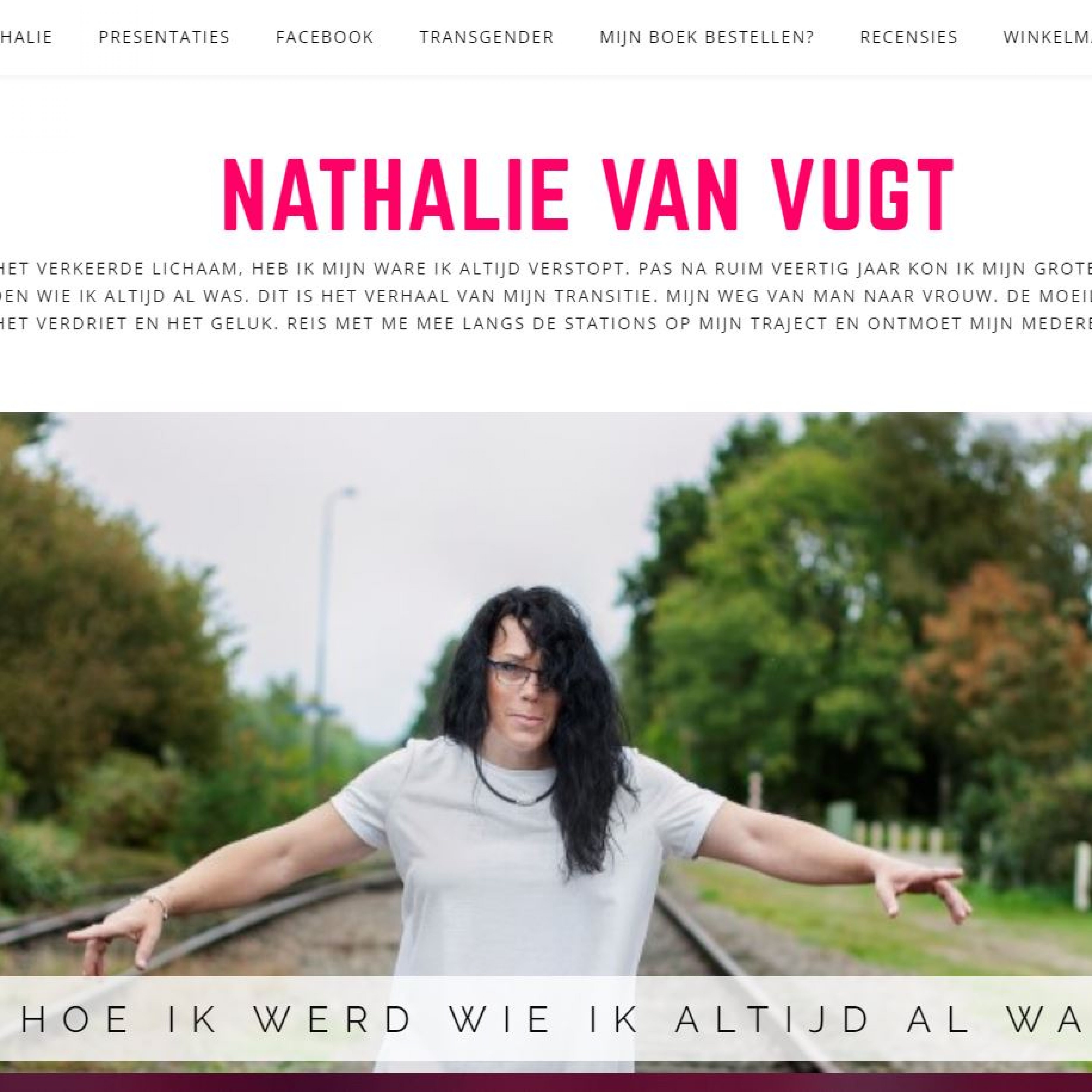 Bouw website Nathalie van Vugt Veghel